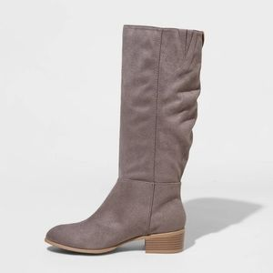 Universal Thread Shoes - Universal thread • gray hilda suede boots